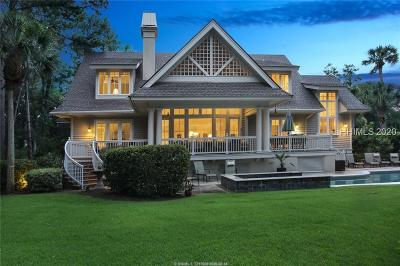 Hilton Head Island Single Family Home For Sale: 30 Harleston Green