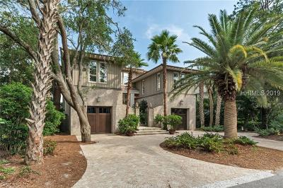 Hilton Head Island Single Family Home For Sale: 18 Grey Widgeon Road
