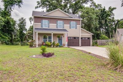 Beaufort County Single Family Home For Sale: 39 Spearmint Circle
