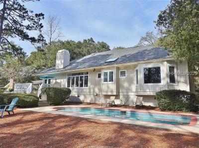 Hilton Head Island Single Family Home For Sale: 6 Topside