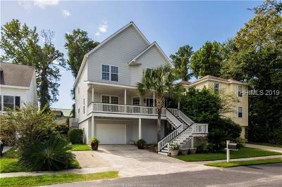 Hilton Head Island Single Family Home For Sale: 29 Cobblestone Court