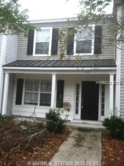 Beaufort County Single Family Home For Sale: 415 Gardners Circle
