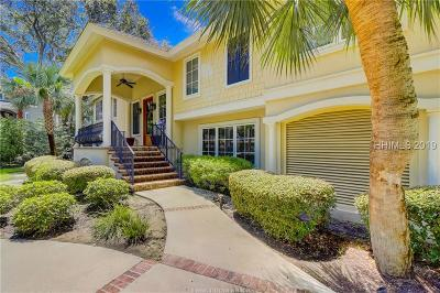Hilton Head Island Single Family Home For Sale: 18 Donax Road