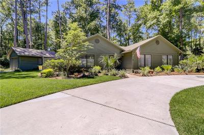 Hilton Head Island Single Family Home For Sale: 6 Sunflower Court