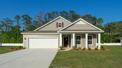 Beaufort County Single Family Home For Sale: 421 Rye Creek Circle