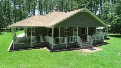 Jasper County Single Family Home For Sale: 1772 Honey Hill Circle