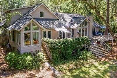 Hilton Head Island Single Family Home For Sale: 23 Governors Lane