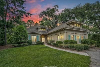 Hilton Head Island Single Family Home For Sale: 67 Widewater Road