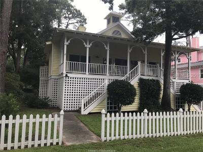 Daufuskie Island Single Family Home For Sale: 3 Driftwood Cottage Lane