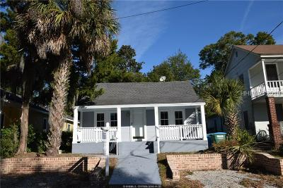 Beaufort Single Family Home For Sale: 1107 Washington Street