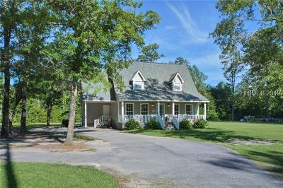 Hardeeville Single Family Home For Sale: 457 Handsome Oak Drive