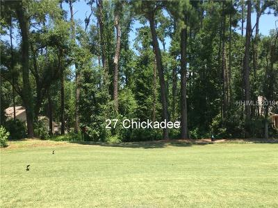 Hilton Head Island Residential Lots & Land For Sale: 27 Chickadee Road