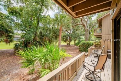 Hilton Head Island Condo/Townhouse For Sale: 21 Haul Away #8