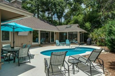 Beaufort County Single Family Home For Sale: 15 N Sea Pines Drive