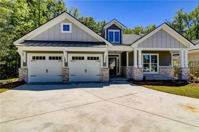 Hampton Lake Single Family Home For Sale: 208 Fording Trace