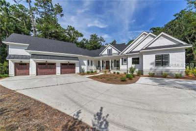 Single Family Home For Sale: 19 Colleton River Drive