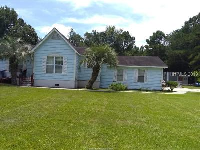 Jasper County Single Family Home For Sale: 65 Florida Drive