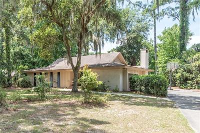 Hilton Head Island Single Family Home For Sale: 10 Willow Oak Road W