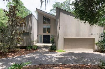 Hilton Head Island Single Family Home For Sale: 20 Heath Drive