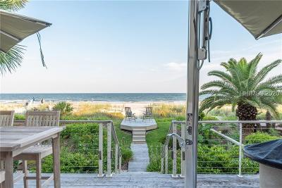 Hilton Head Island Single Family Home For Sale: 1 Beach Lagoon #24 Road