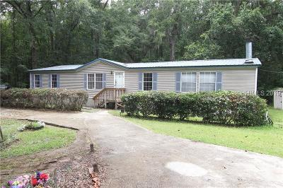 Jasper County Single Family Home For Sale: 82 Frazier Lane