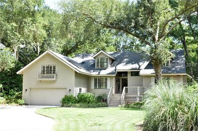 Hilton Head Island Single Family Home For Sale: 8 Tall Pines Road