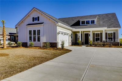 Bluffton Single Family Home For Sale: 106 Sand Lapper Cove