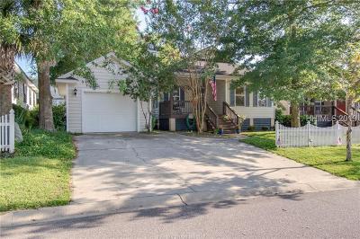 Beaufort Single Family Home For Sale: 3 Binaker Court