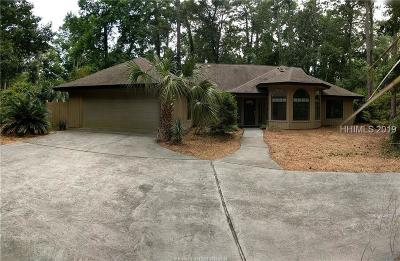 Hilton Head Island, Bluffton Single Family Home For Sale: 117 High Bluff Road