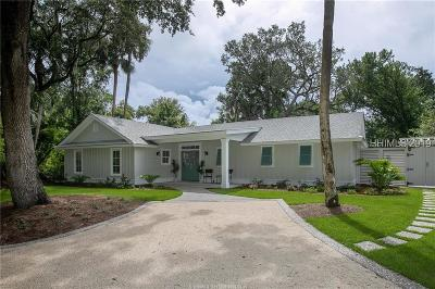 Beaufort County Single Family Home For Sale: 7 Sandpiper Street