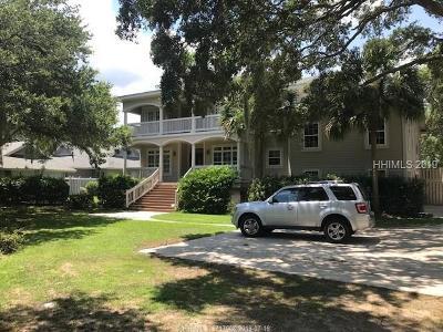 Hilton Head Island Single Family Home For Sale: 75 Fort Walker Drive