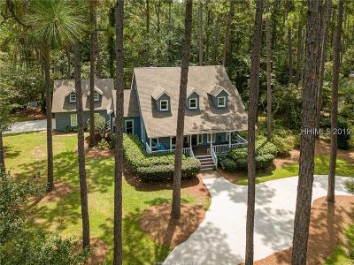 Hilton Head Island Single Family Home For Sale: 55 Rookery Way