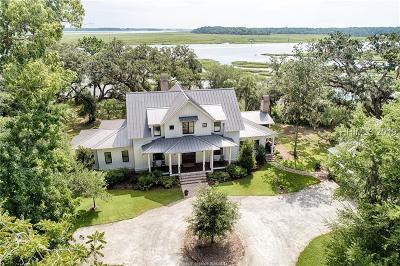 Okatie Single Family Home For Sale: 18 Cedar Point