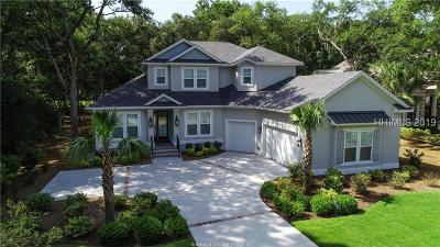 Hilton Head Island Single Family Home For Sale: 595 Colonial Drive