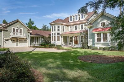 Bluffton Single Family Home For Sale: 9 Pondhawk Road