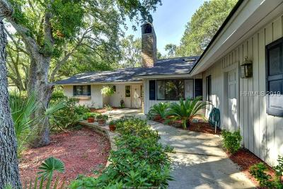 Hilton Head Island, Bluffton Single Family Home For Sale: 27 Fort Walker Drive