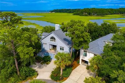Beaufort County Single Family Home For Sale: 34 Bayley Point Lane
