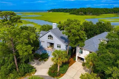 Hilton Head Island Single Family Home For Sale: 34 Bayley Point Lane