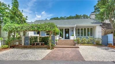Hilton Head Island Single Family Home For Sale: 301 Moss Creek Drive