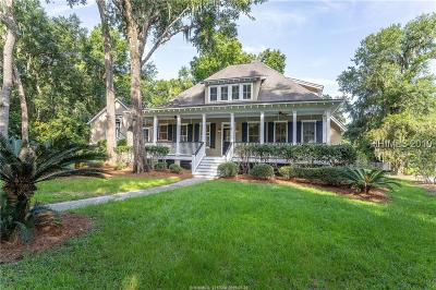 Beaufort Single Family Home For Sale: 9 Long Pond Drive N