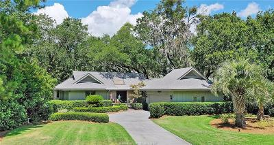Hilton Head Island Single Family Home For Sale: 30 Bear Creek Drive