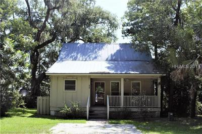 Jasper County Single Family Home For Sale: 563 Broad River Road