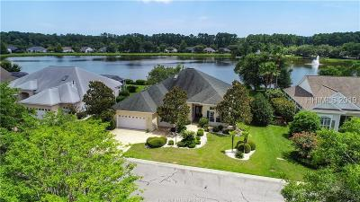 Bluffton Single Family Home For Sale: 10 Lake Somerset Drive