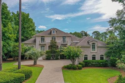 Hilton Head Island Single Family Home For Sale: 5 Harrogate Drive
