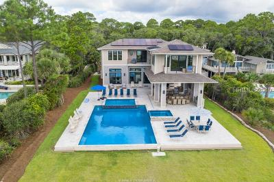 Hilton Head Island Single Family Home For Sale: 25 Sandhill Crane Road