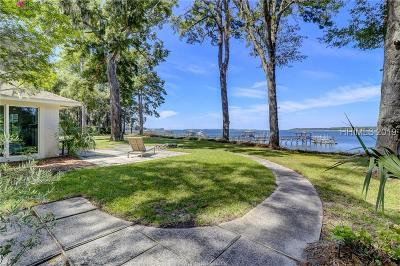 Hilton Head Island Single Family Home For Sale: 24 Brams Point Road