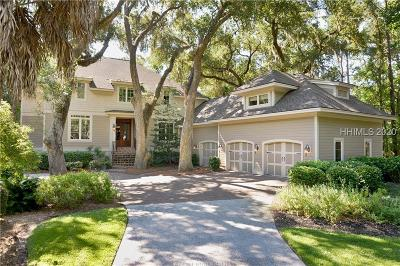 Hilton Head Island Single Family Home For Sale: 61 Heritage Road