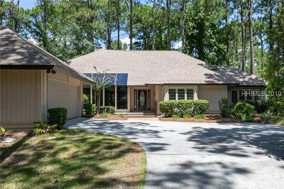 Hilton Head Island Single Family Home For Sale: 37 Eagle Claw Drive