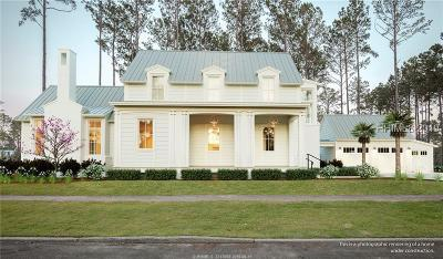 Bluffton SC Single Family Home For Sale: $1,350,000