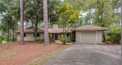 Hilton Head Island Single Family Home For Sale: 8 Club Course Lane